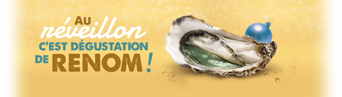 visual pub  for oysters Marennes Oléron